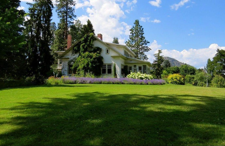Landscaped Home