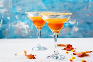 pumpkin spiced margaritas