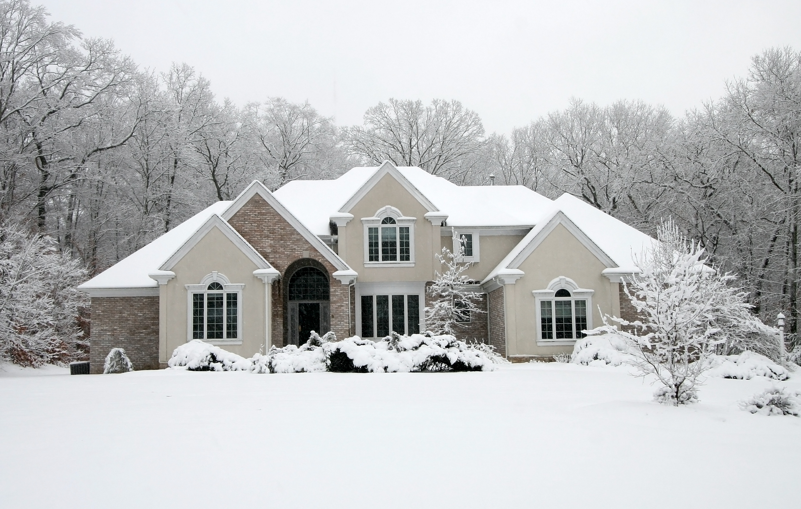 Snowy House - The Morty Blog